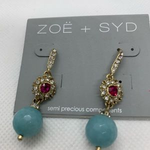 ZOE + SYD Aquamarine Crystal